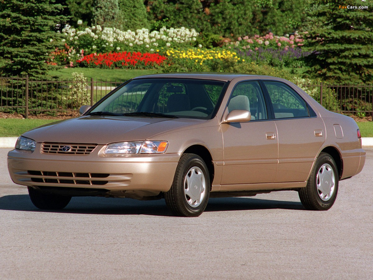 curbside classics 1997 toyota camry and 1998 honda accord two very differe. Black Bedroom Furniture Sets. Home Design Ideas