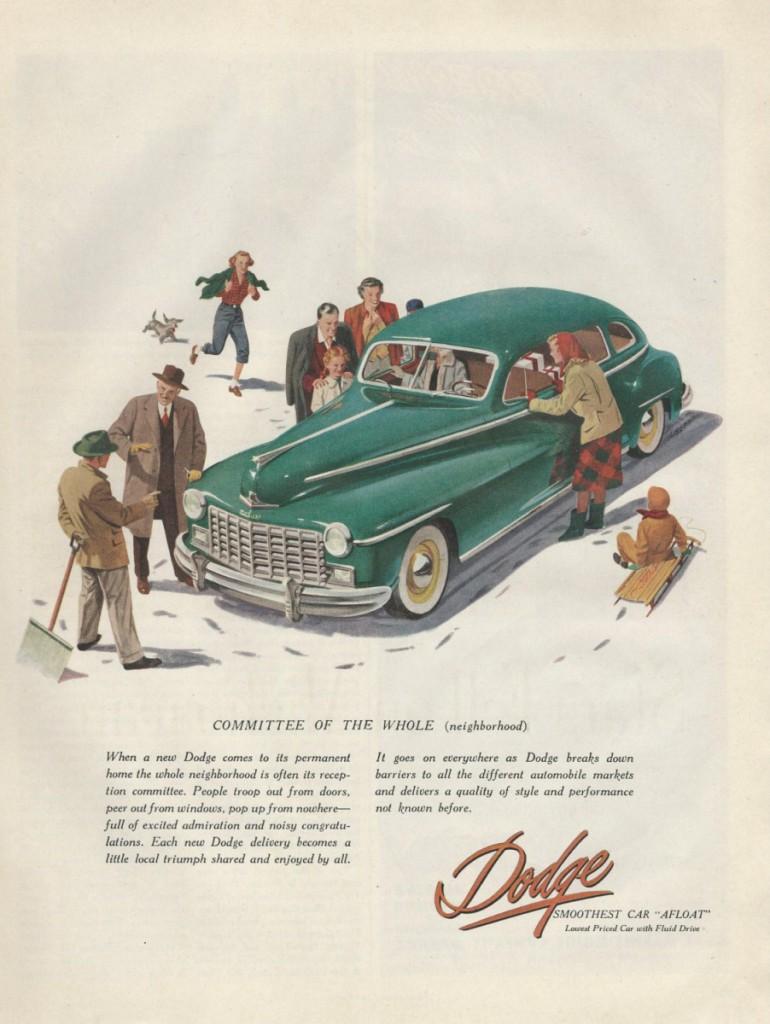 vintage dodge ad 1948