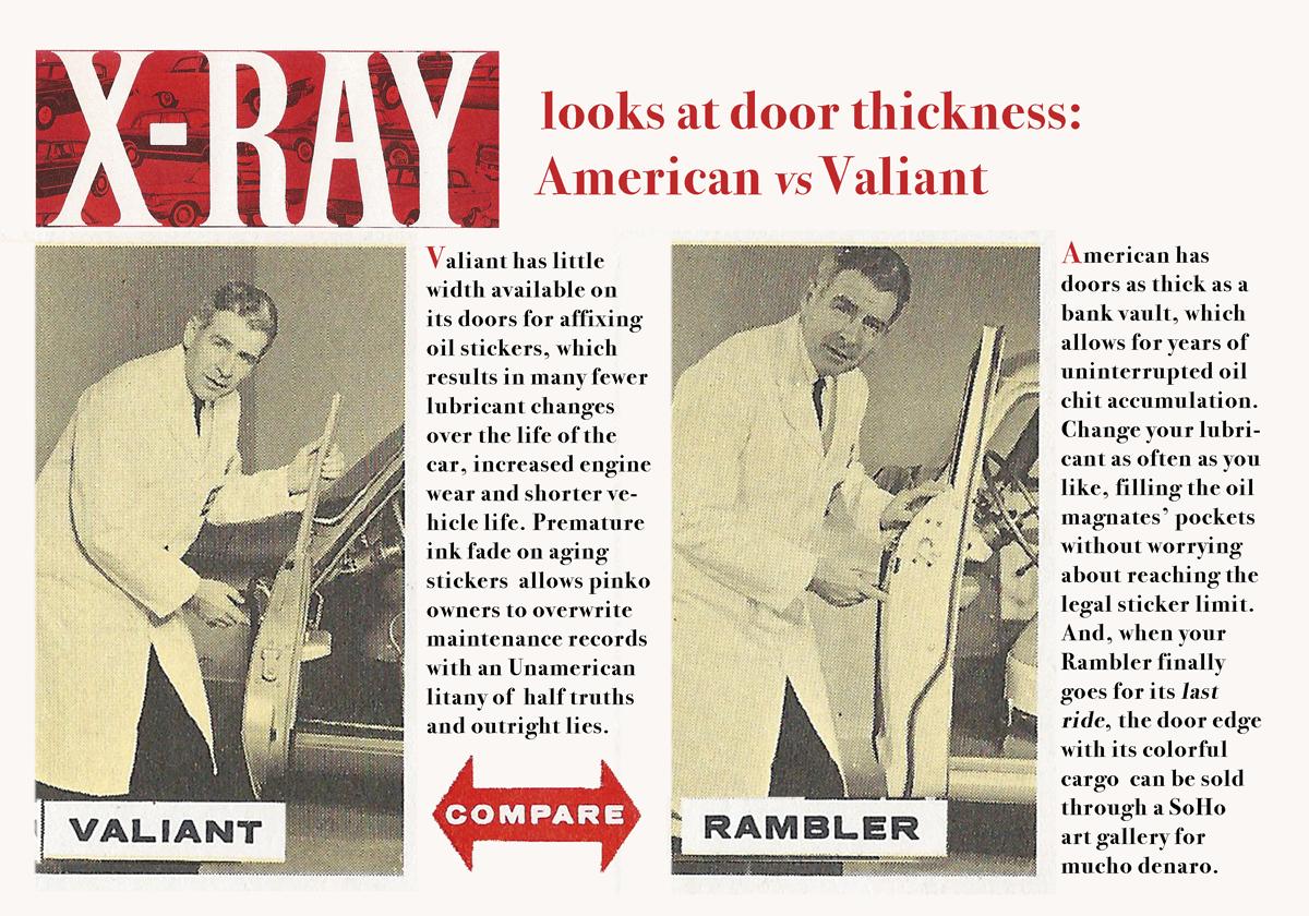 x-ray door thickness  reimagnined