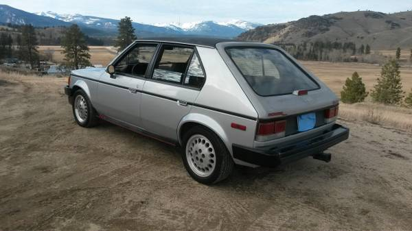 craigslist find 1986 dodge omni glh a bargain at 1000. Black Bedroom Furniture Sets. Home Design Ideas