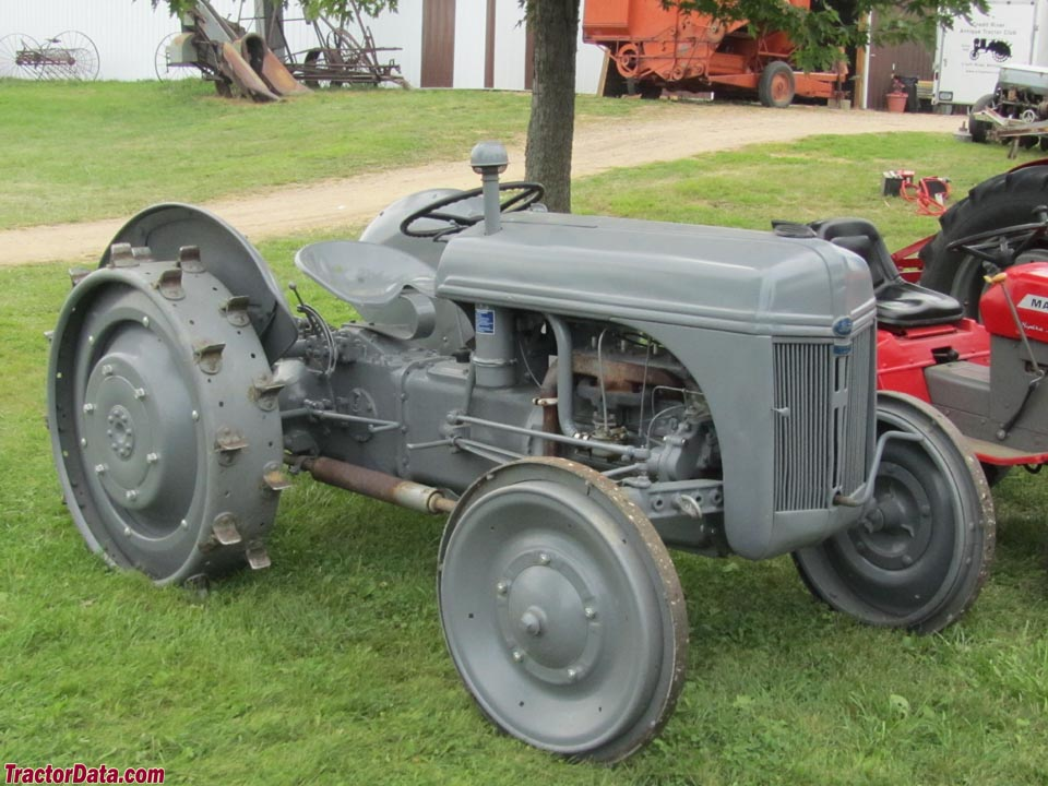 Ford 9n Mower : Ag history ford n series tractors and the handshake that