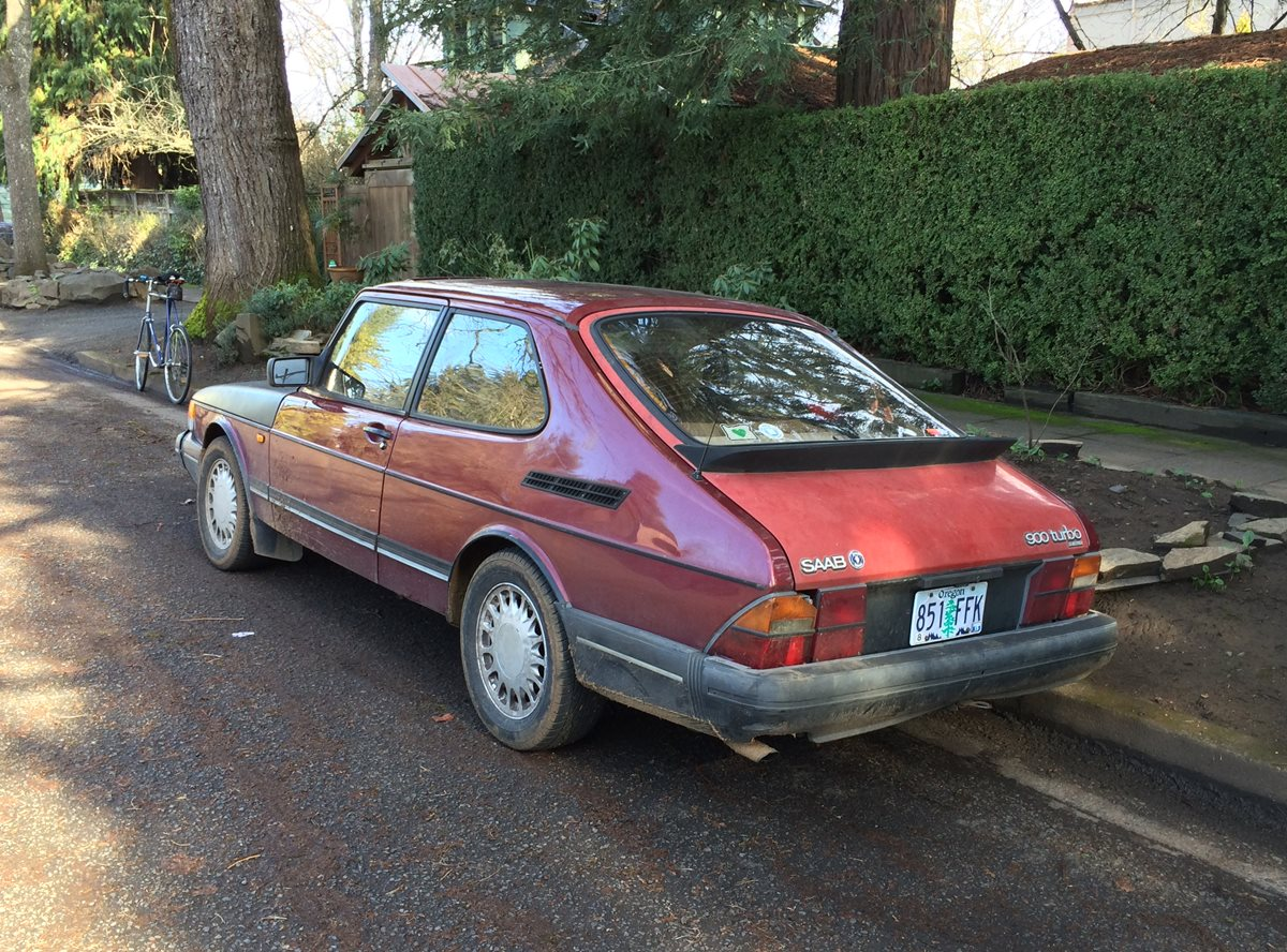 Curbside Classic  1993 Saab 900 Turbo  U2013 Not Lagging In Appeal