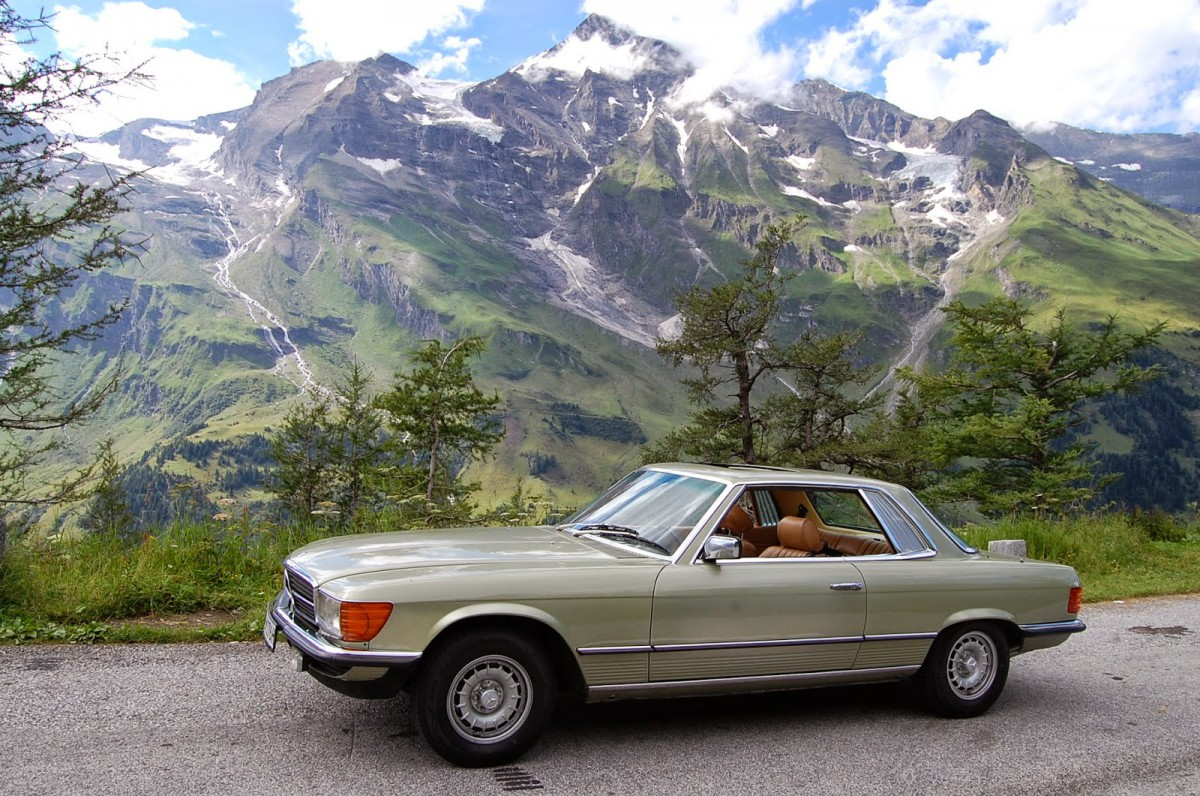 My curbside classic 1981 mercedes benz 380slc in a class of its