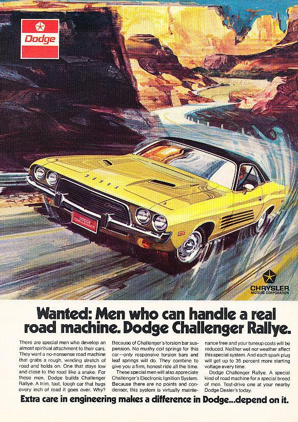 vintage dodge 1973