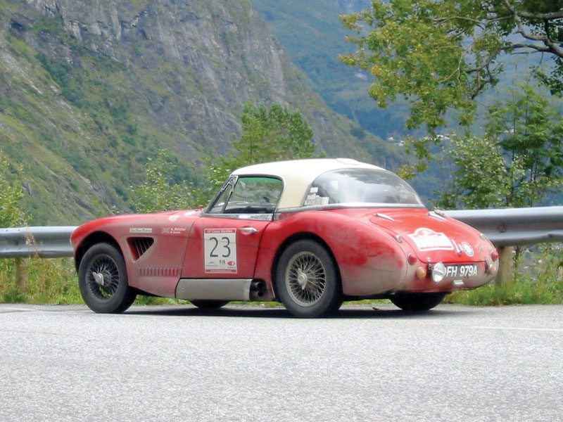 Curbside Classic 1960 Austin Healey 3000 The Most