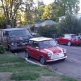 I was walking back to my studio a few days (sorry, last summer) ago and came upon this rather fortuitous pairing.  New Minis are rather common in Eugene;  seeing an […]