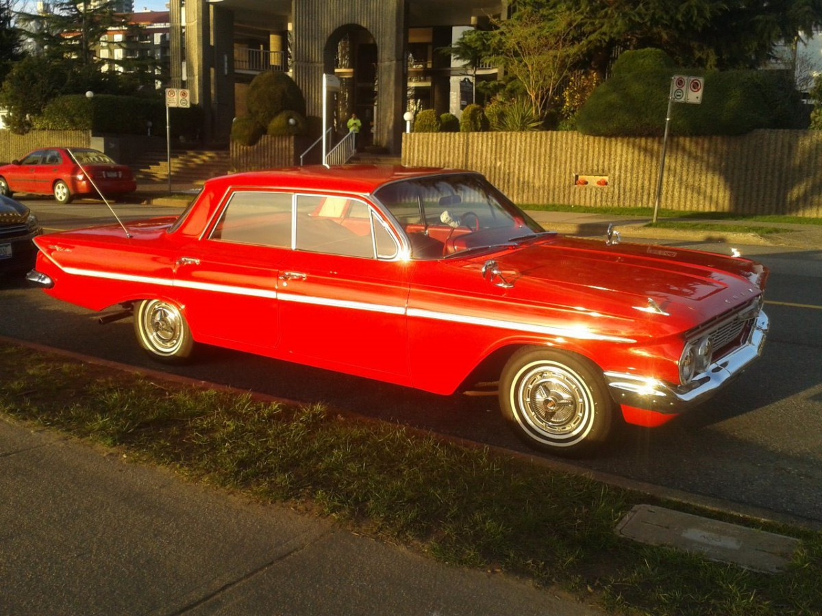 Chevrolet 1961 Bel Air 4 dr hdtp sfq