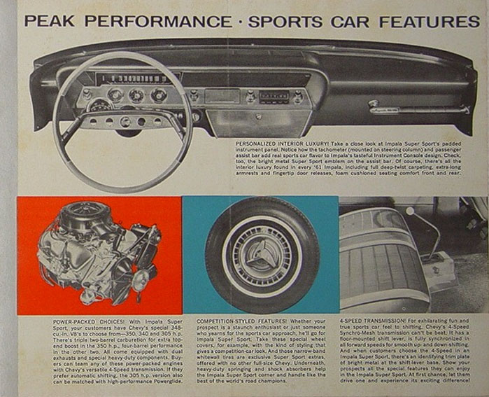 Chevrolet 1961 SS brochure 2
