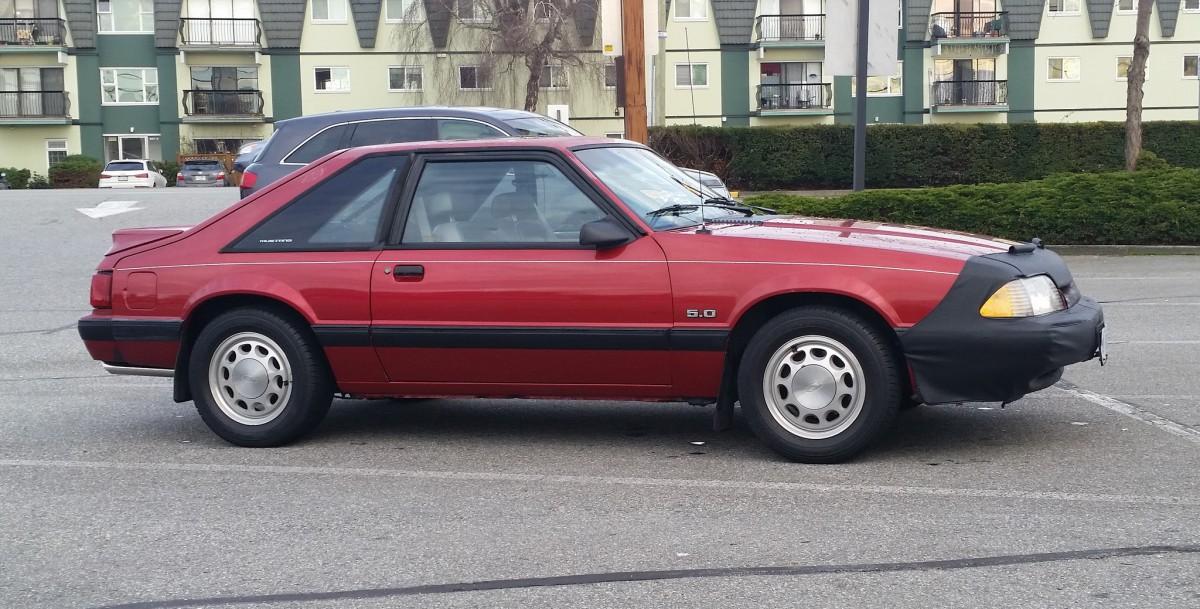 Mustang 1987m - 1989 LX 5.0