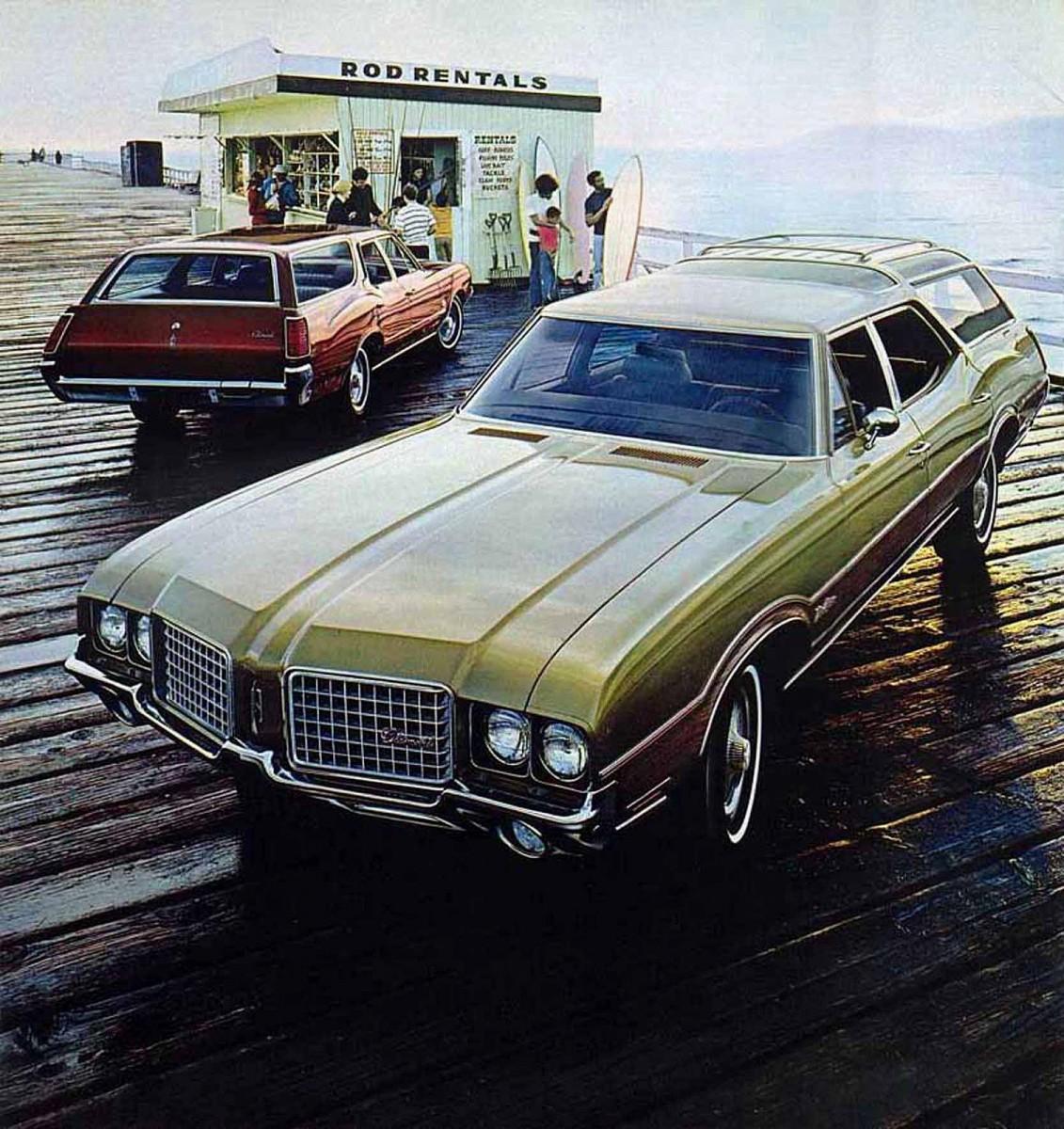1993 Oldsmobile Cutlass Cruiser Camshaft: Automotive History And QOTD: The American Wagons Of 1972