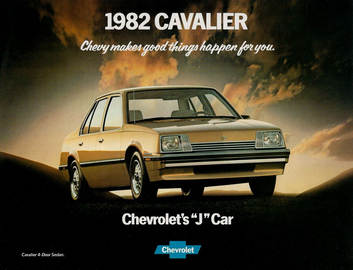 Chevrolet Cavalier 1982 ad 2
