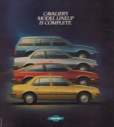 Chevrolet Cavalier 1982