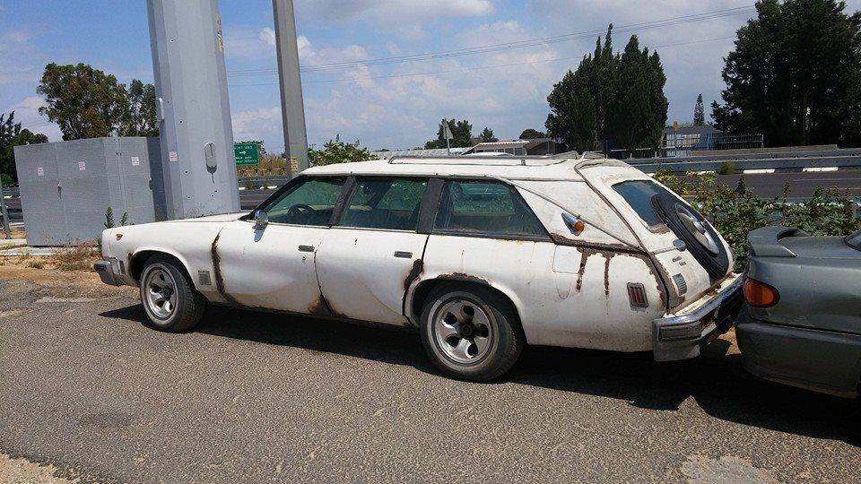 Olds 1976 wagon custom rq