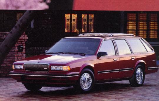 Buick Century Special Wagon Maroon