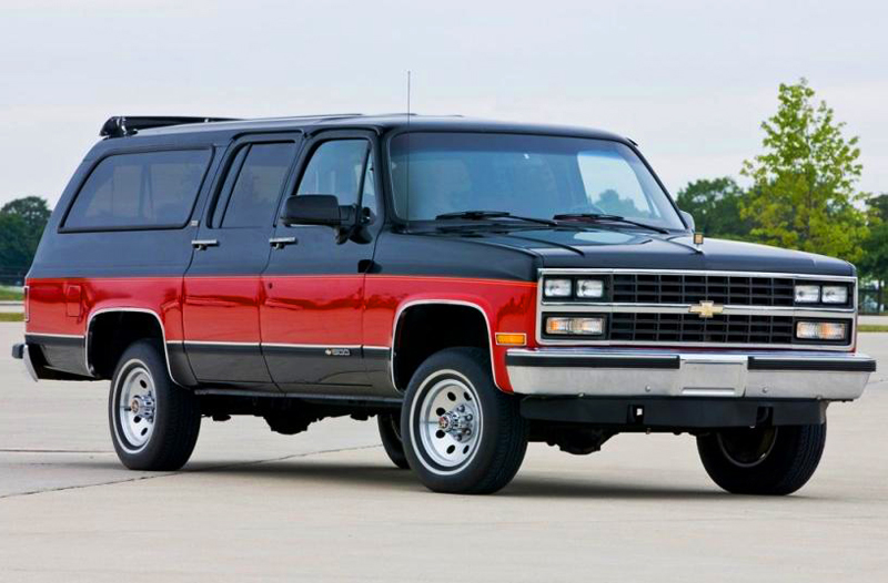 Curbside Classic: 1982 Chevrolet Suburban – Four Doors For ...