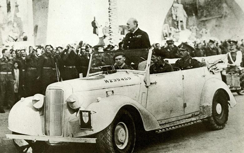 Churchill Monty Humber