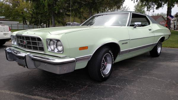 craigslist classic 1973 ford gran torino can we just stop. Black Bedroom Furniture Sets. Home Design Ideas