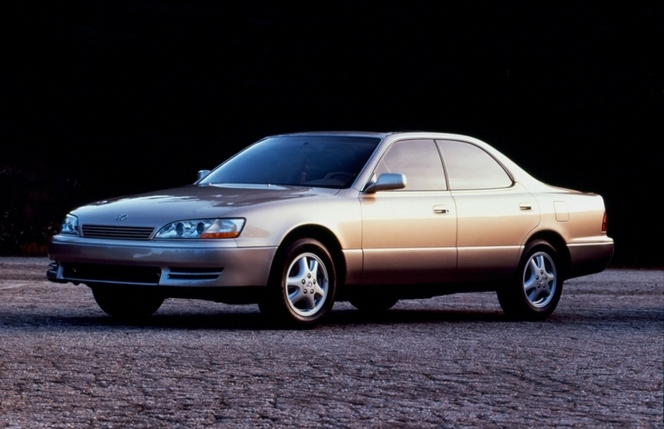 curbside classic 1989 91 lexus es250 lexus learning curve. Black Bedroom Furniture Sets. Home Design Ideas