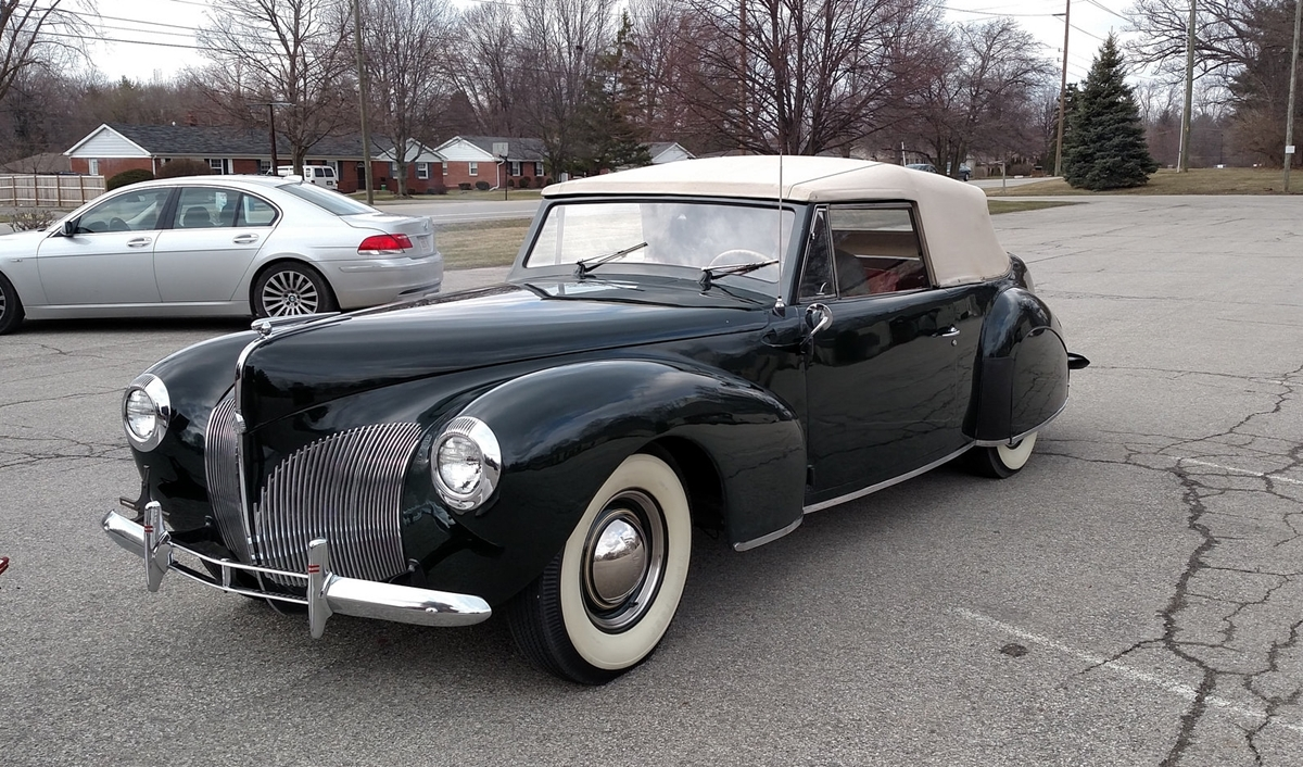 curbside classic 1940 lincoln continental cabriolet. Black Bedroom Furniture Sets. Home Design Ideas