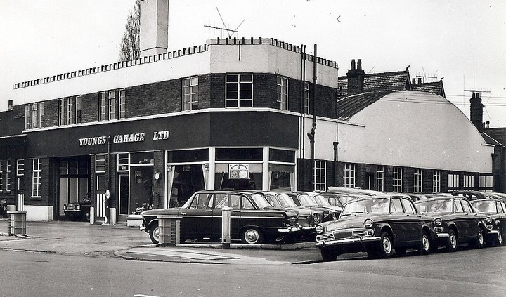 1964 Youngs Garage Lincoln
