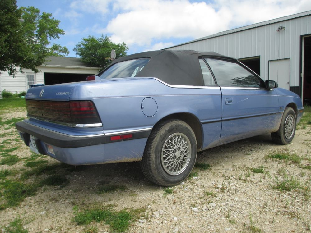 Cc driving impressions 1992 chrysler lebaron convertible for 1992 chrysler lebaron convertible rear window regulator