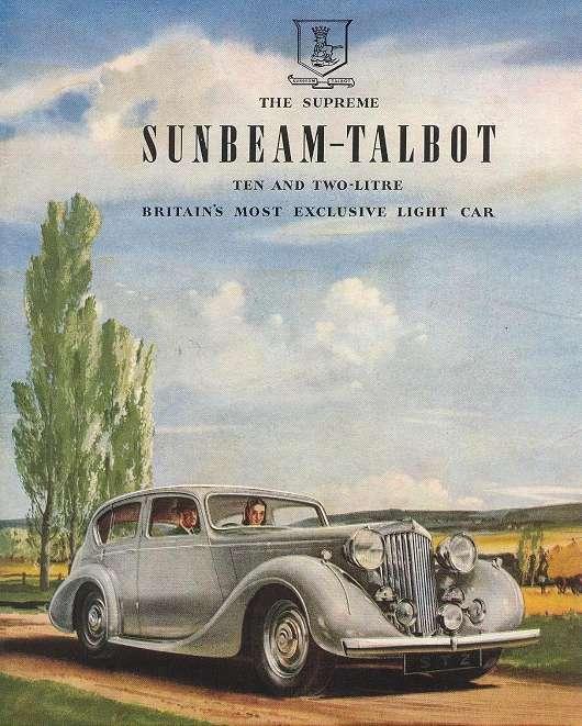 Sunbeam-Talbot ad