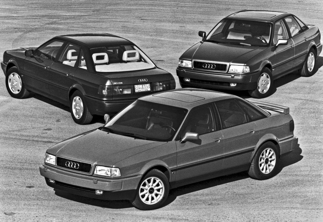 curbside classic 1993 audi 90 quattro forgotten but not gone. Black Bedroom Furniture Sets. Home Design Ideas