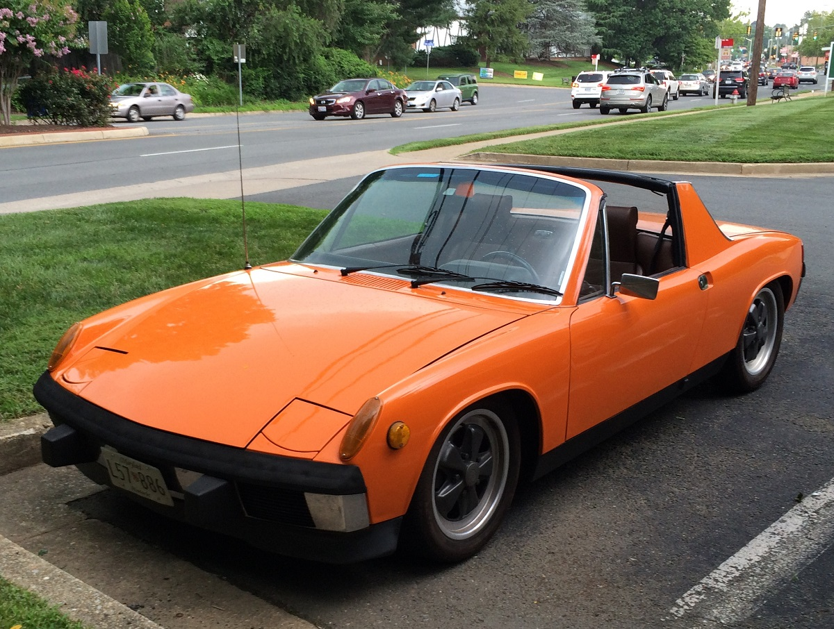 curbside classic 1973 74 porsche 914 2 0 entry level porsche 1 0. Black Bedroom Furniture Sets. Home Design Ideas