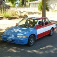 Well, it was built in Maryslville, Ohio, so it gets to wear the stars and stripes. And it is very civic-minded. And it's the only flag-painted car I have readily […]
