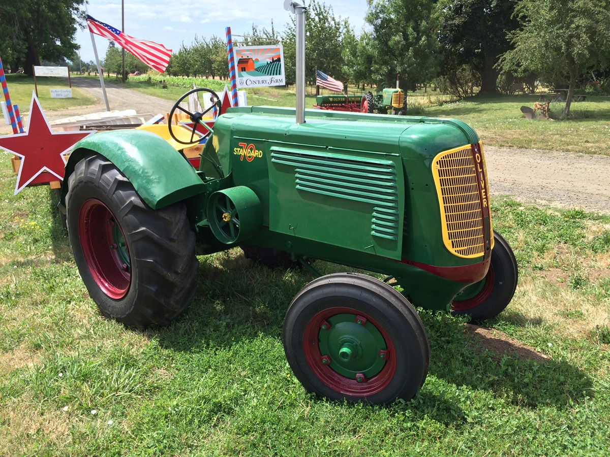 Oliver S Tractor Dual Wheels : Fieldside classic oliver standard silky smooth