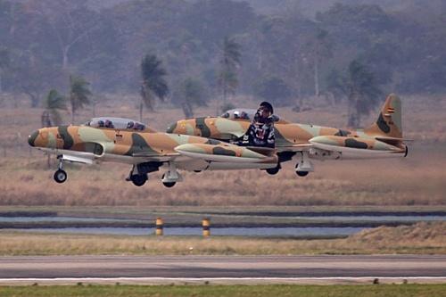 The last T33 in Service. Bolívian Air Force