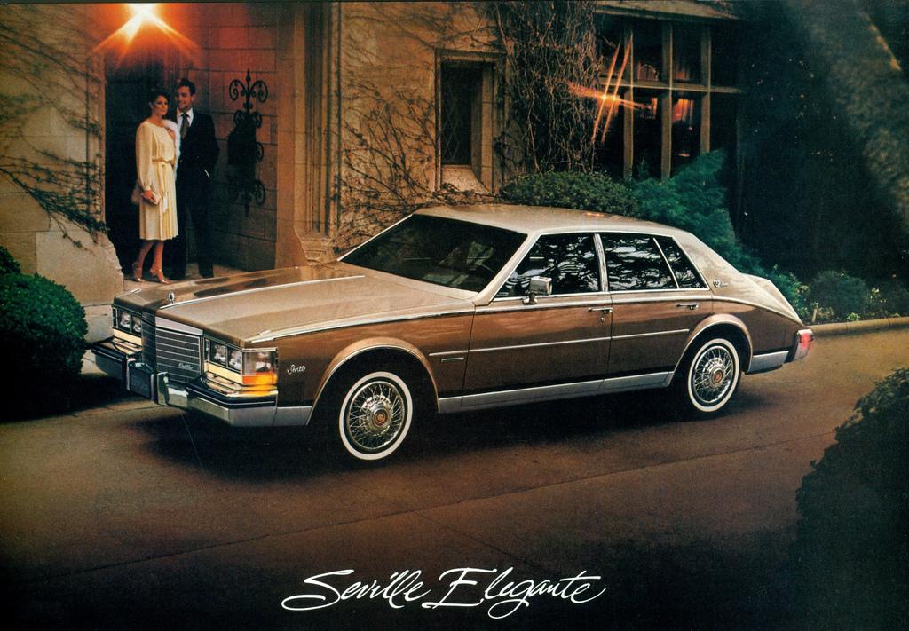 1983 Cadillac Seville Interior 1983 Cadillac Seville Elegante