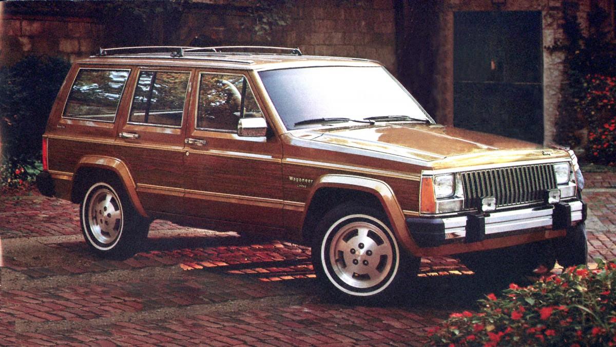 1984 jeep wagoneer limited