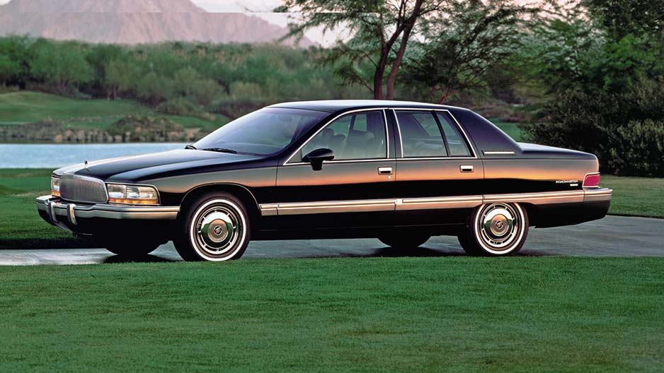 Curbside Capsule 1992 96 Buick Roadmaster Sedan Who