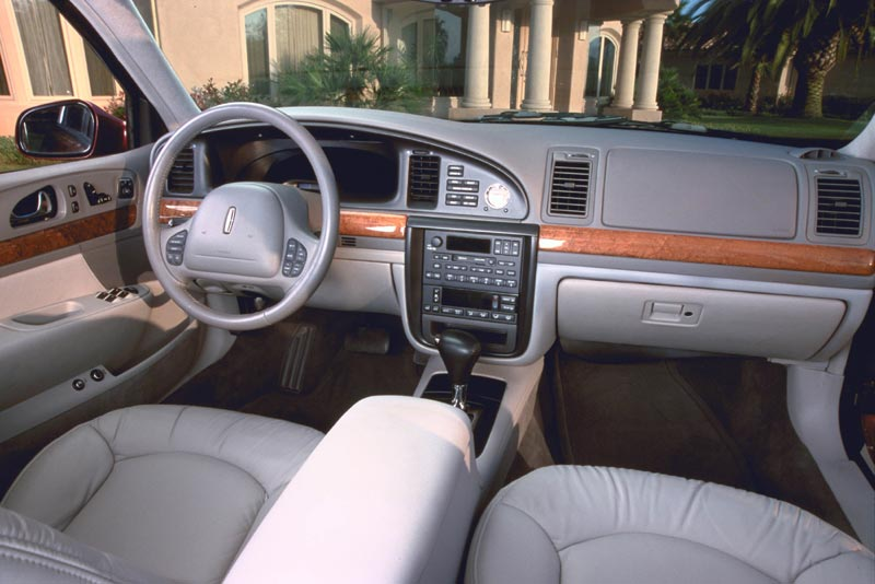 curbside classic 1995 2002 lincoln continental in pursuit of the pursuer. Black Bedroom Furniture Sets. Home Design Ideas