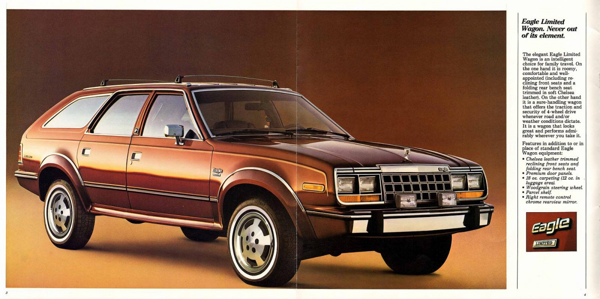 Curbside Classic 1984 Amc Eagle Sedan Back From The Future