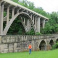 """1828 stone-arch """"S bridge"""" and 1932 concrete-arch bridge, Blaine, Ohio Rivers, streams, lakes, and valleys have always hindered our ability to get from here to there. That's why bridge building […]"""
