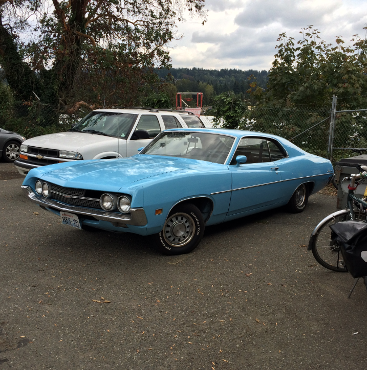 Ford 1970 Fairlane 500 coupe fq