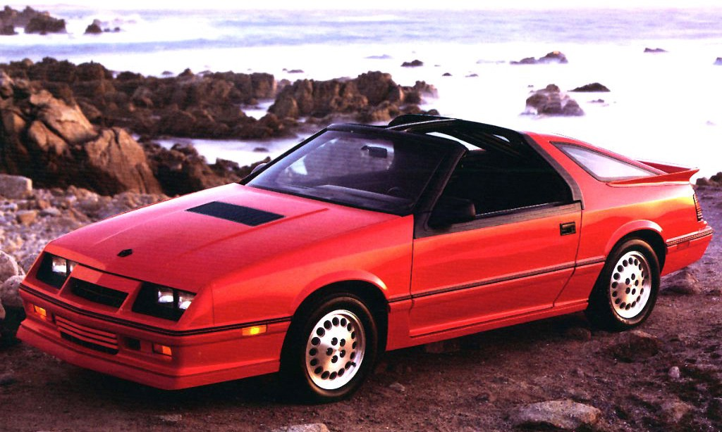 Curbside Classic 1987 Dodge Daytona Shelby Z Baby Steps