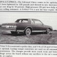 Though the downsized Caprice/Impala had been an enormous success since being introduced in 1977, market conditions were changing quickly as the 1970s came to a close. In the span of […]