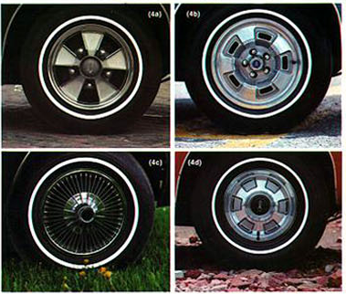 Barracuda 1968 wheel covers