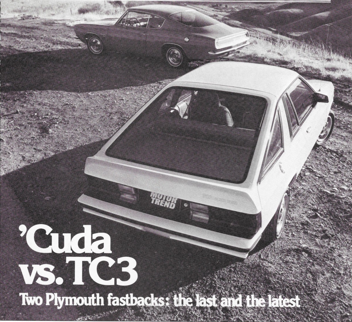 Vintage review 1981 plymouth tc3 versus 1968 barracuda which one was more right for its time