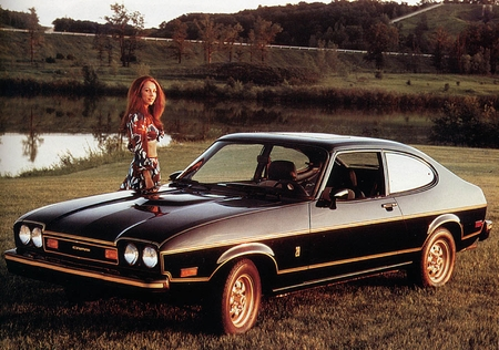 Mercury Capri Black Cat