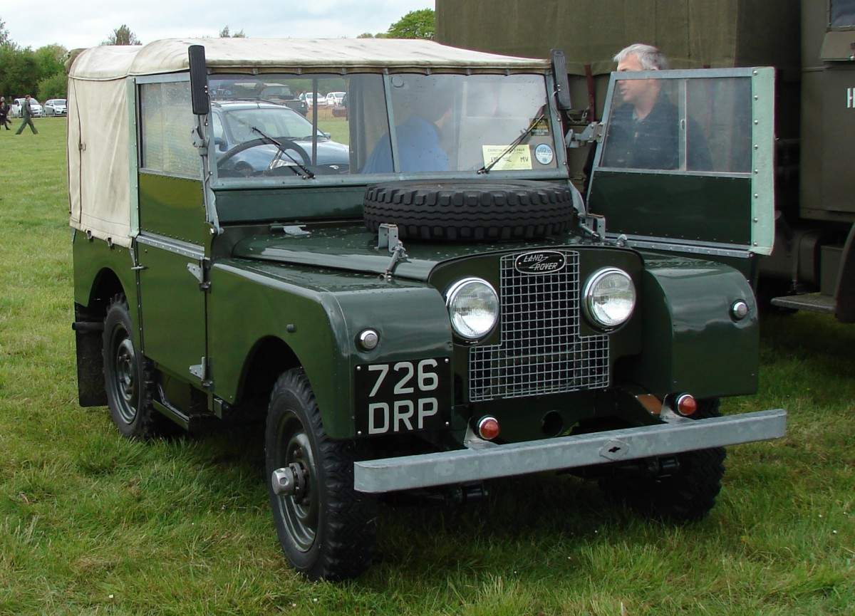curbside classic land rover series 1 after 67 years. Black Bedroom Furniture Sets. Home Design Ideas