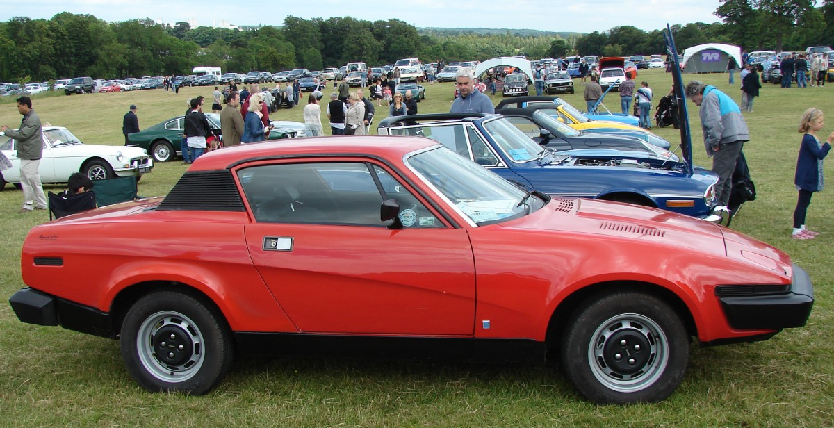 Carshow Classic  1976 Triumph Tr7 Fixed Head Coupe  U2013 The
