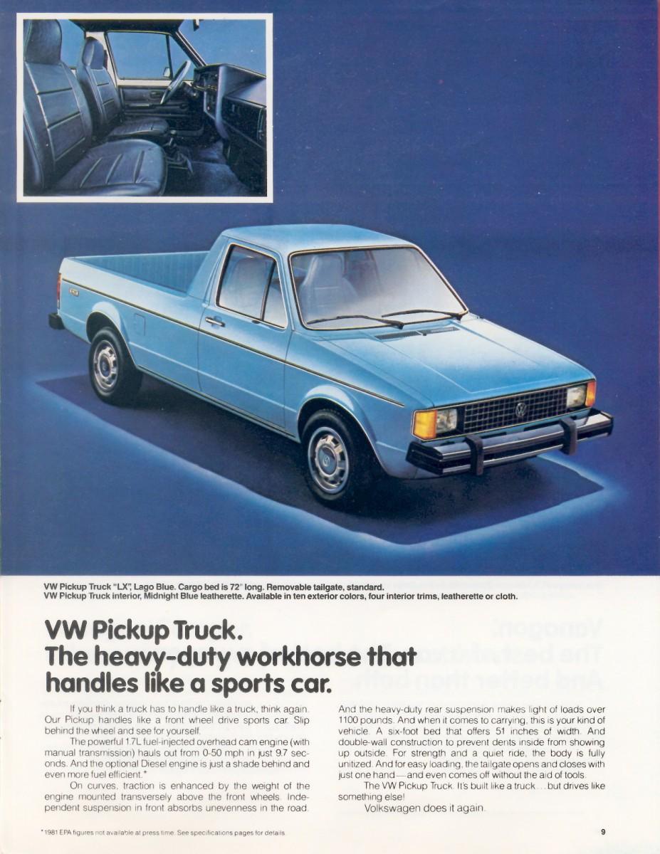 CC Outtake: VW Type 2 and Rabbit Pickups — Zwei Kleine ...
