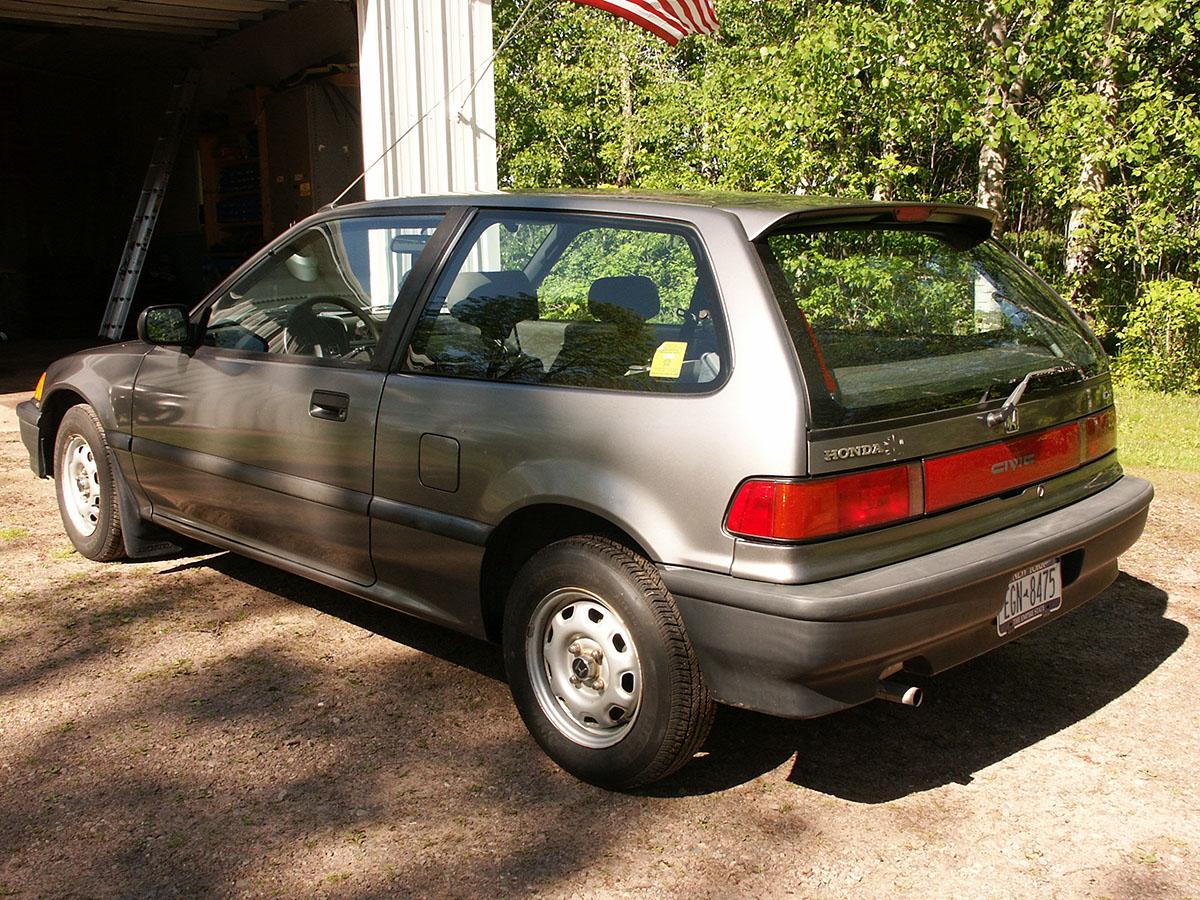 Curbside Classics : 1990/2003 Honda Civic - A Tale Of Two ...