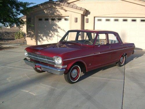 Chevrolet Chevy II 1962 sedan