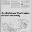 GM experimented with a number of electric cars in the 60s (as well as other alternative propulsion systems). Although they tried all sorts of exotic (expensive) battery technologies, such as […]
