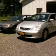 On the surface, these two vehicles have a lot in common. Both represent Honda's finest North American front-wheel-drive small cars from their respective eras; both are in silver/grey paint; […]